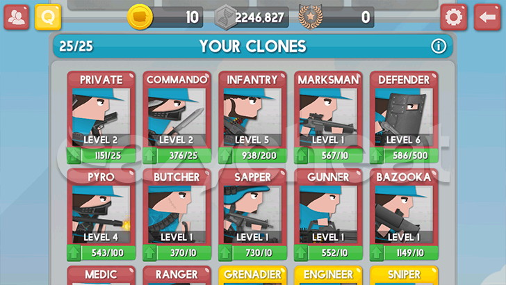 Clone Armies Cheat