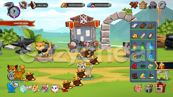Castle Cats: Epic Story Quests Cheat