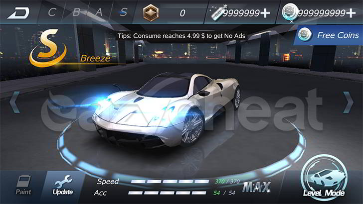 Crazy for Speed Cheat
