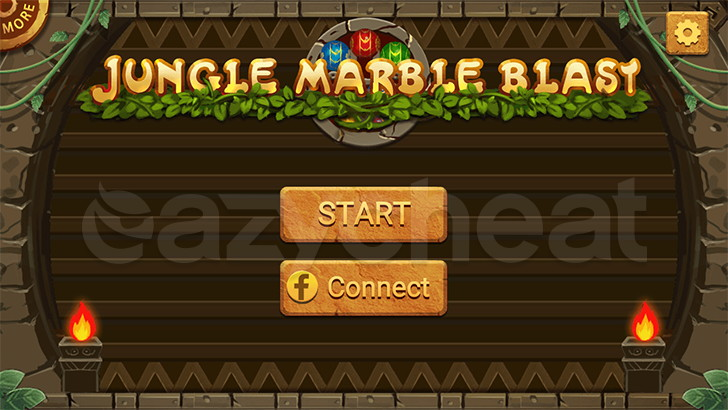 Jungle Marble Blast Unlimited Coins, Life and Power Ups