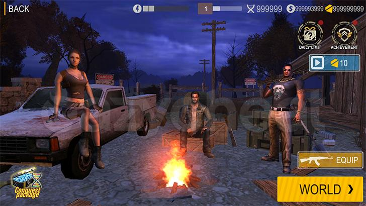 Death Invasion : Survival Cheat