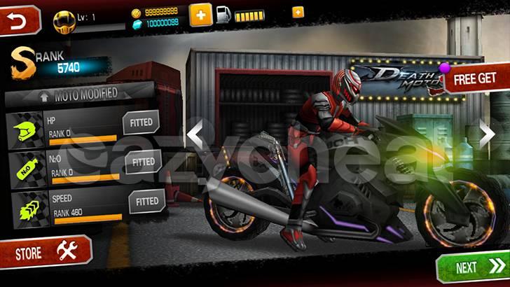 Death Moto 3 Cheat