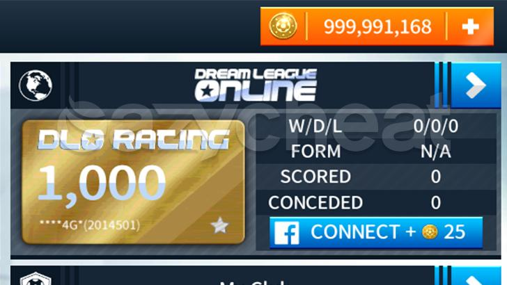 Dream League Soccer 2018 Cheat