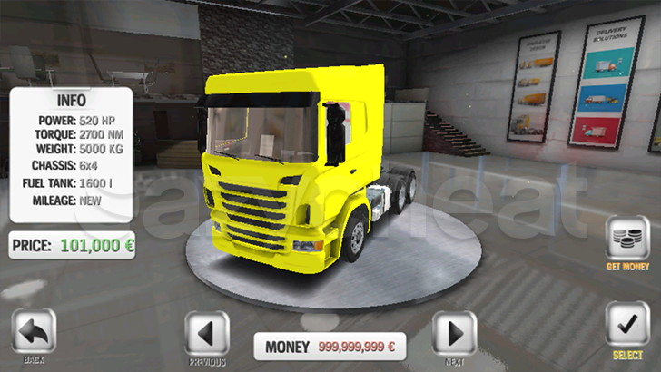 Euro Truck Evolution (Simulator) Cheat