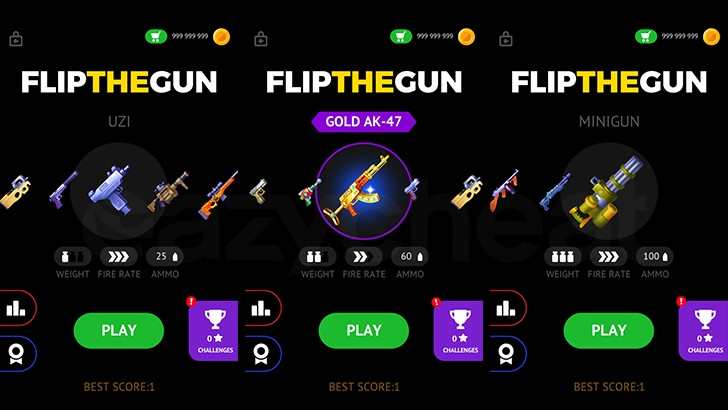 Flip the Gun - Simulator Game Cheat