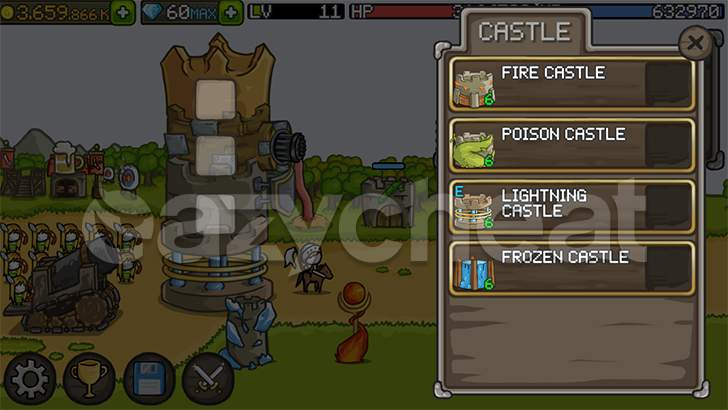 Grow Castle Cheat