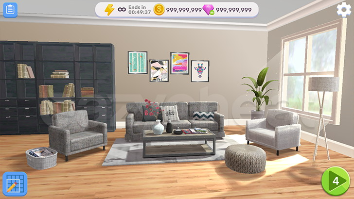 Home Design Makeover! Unlimited Coins And Gems