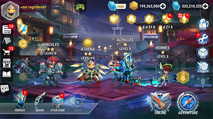Heroes Infinity Cheat