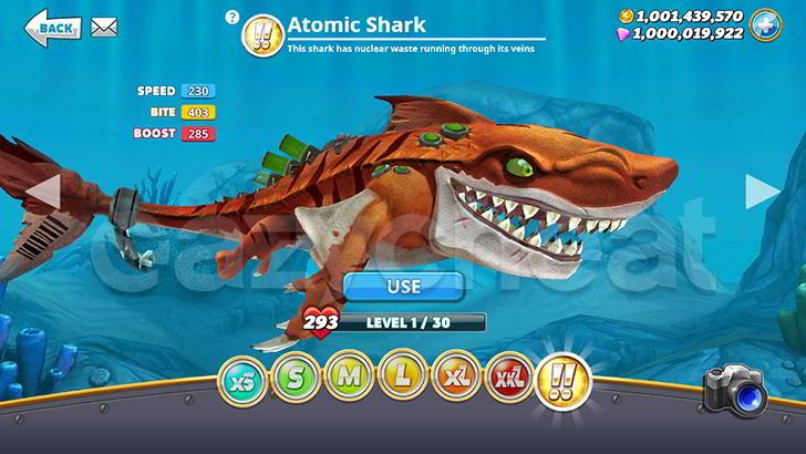 Hungry Shark World Cheat