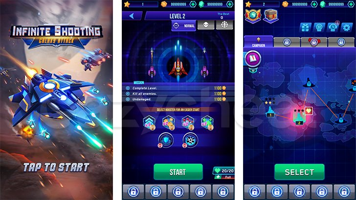 Infinity Shooting: Galaxy War Cheat