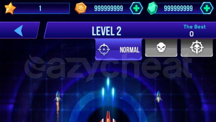 Infinity Shooting: Galaxy War Cheat