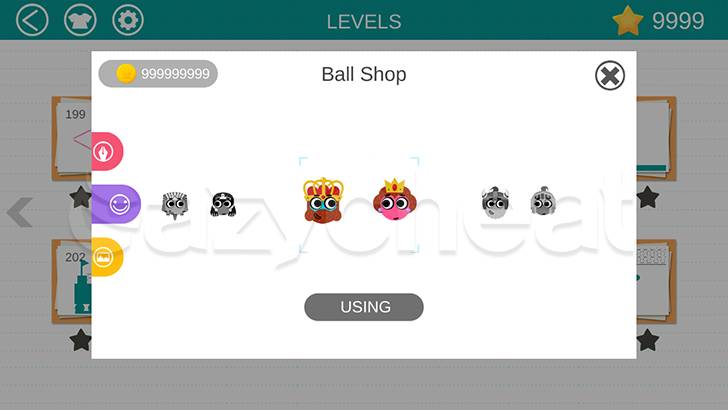 Love Balls Cheat