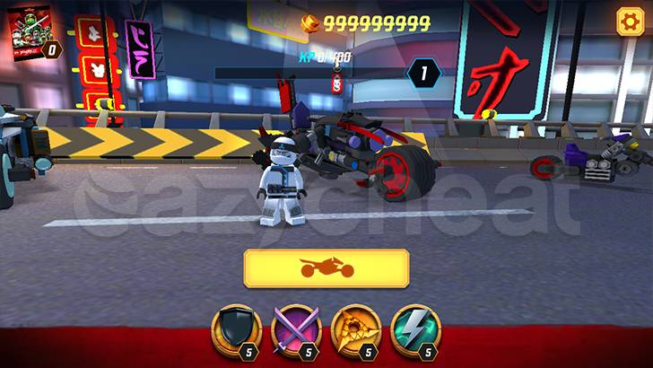 LEGO® NINJAGO®: Ride Ninja Cheat
