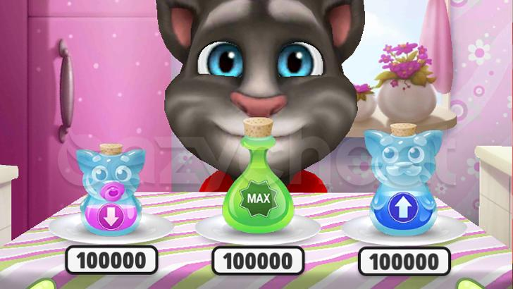My Talking Tom cheat