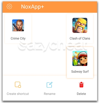 Cheat without root using NoxApp+