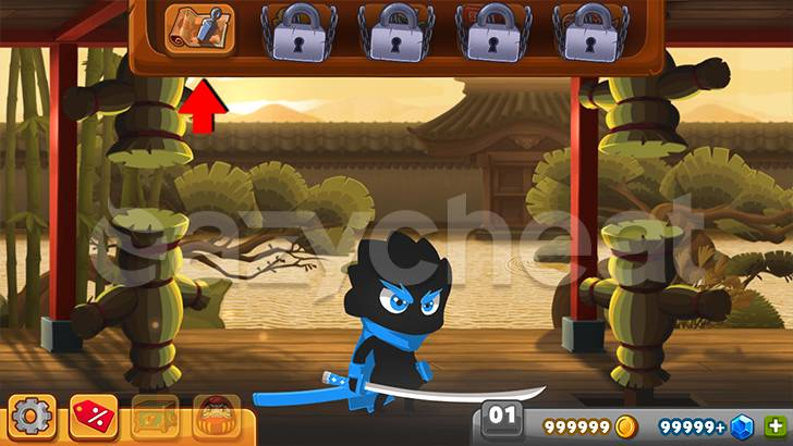 Ninja Dash - Ronin Jump RPG Cheat