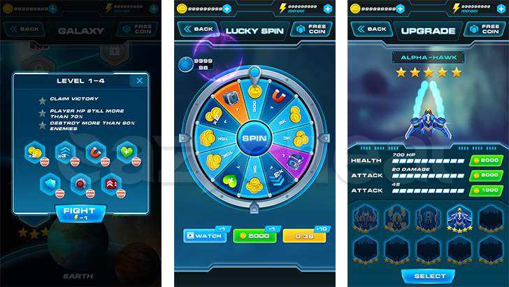 Galaxy Attack  Cheat