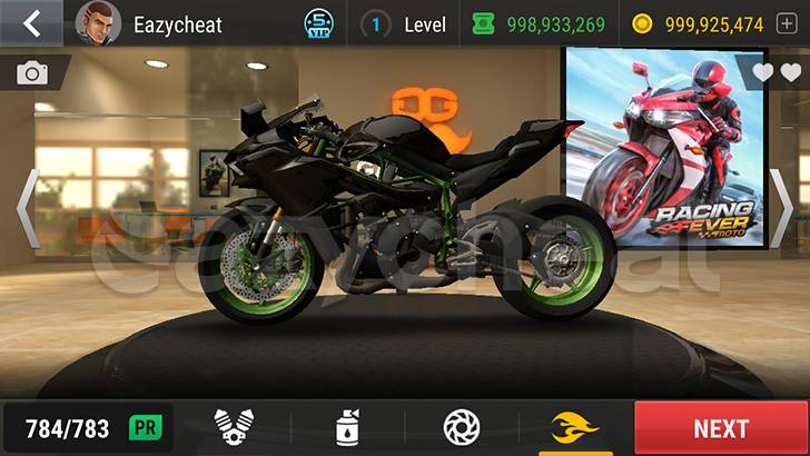 Racing Fever: Moto Cheat