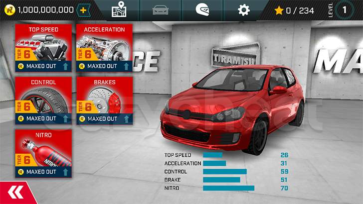Race Max Cheat