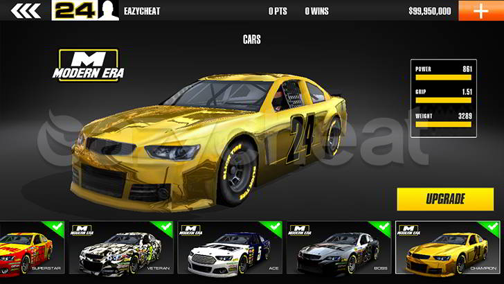 Stock Car Racing Cheat