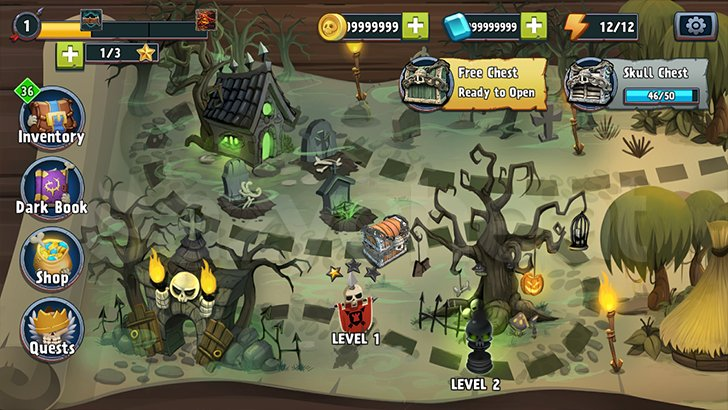 Skull Towers: Best Offline Castle Defense Games Cheat