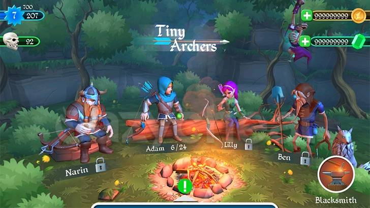 Tiny Archers Cheat