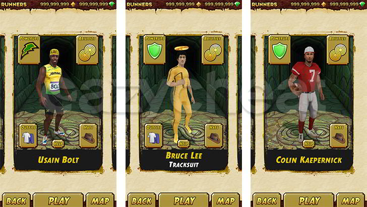 Temple Run 2 Cheat