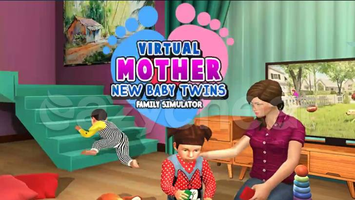 Virtual Mother New Baby Twins Family Simulator Cheat