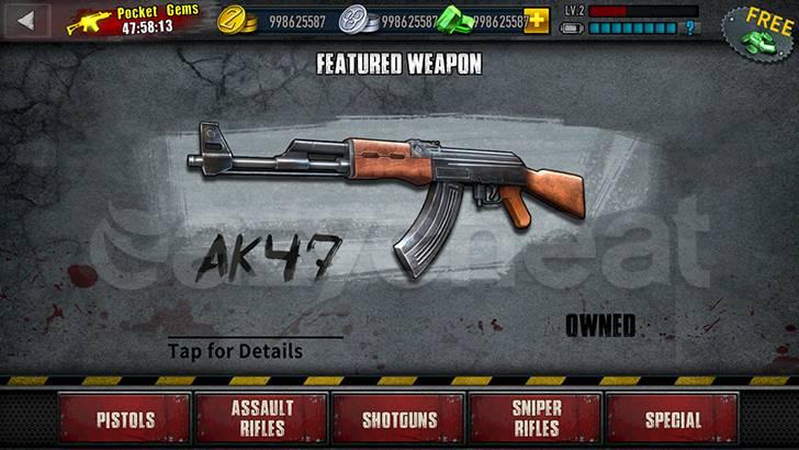 Zombie Frontier 3: Sniper FPS Cheat
