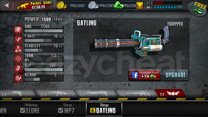 Zombie Frontier 3: Sniper FPS Cheat