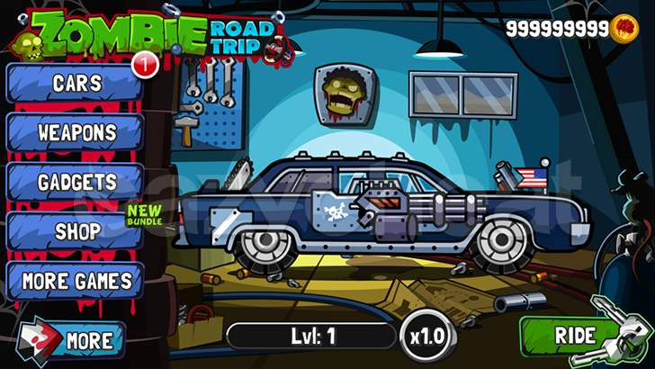 Zombie Road Trip Cheat